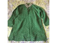 Boys Asian Outfit (Green)