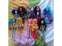11Dolls. Monster High and Equestria Girls bundle