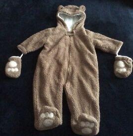 Baby boy's snow suit/pram suit Age 6-9 months