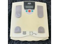 Tanita Body Fat Monitor/Scales - with individual settings for 4 people