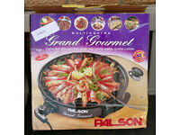 Palson 1800W Electric Multi Cooker Non-Stick Frying Pan, Large Cool Touch Handles