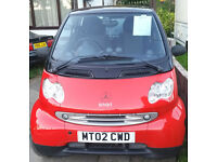 SMASHING LITTLE SMART CAR professional smart engine rebuild cost 850 also a new turbo