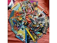 14 comic books