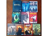 Selling various DVD's
