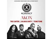 AKON TICKET FOR SALE
