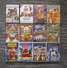 Kid's DVD's Animal Theme