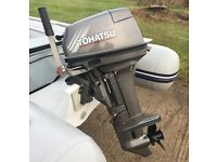 *Immaculate Tohatsu 15hp Outboard, Boat Waveline RIB & Trailer - Complete Package