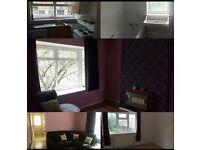 One bed top floor flat Bilton Grange to rent