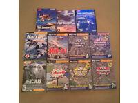 Various Flight Sim's & UK Digital Terrain Imagery
