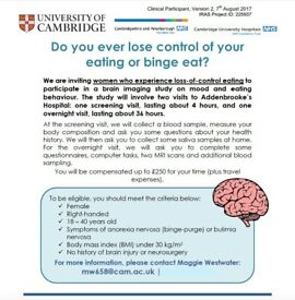 Do you ever lose control of your eating or binge eat?