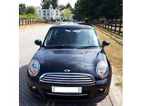 Black 2011 Mini Cooper Diesel 1.6, VGC, Sat Nav, Air Con, Cruise Control, 60mpg GREAT LITTLE CAR!!!