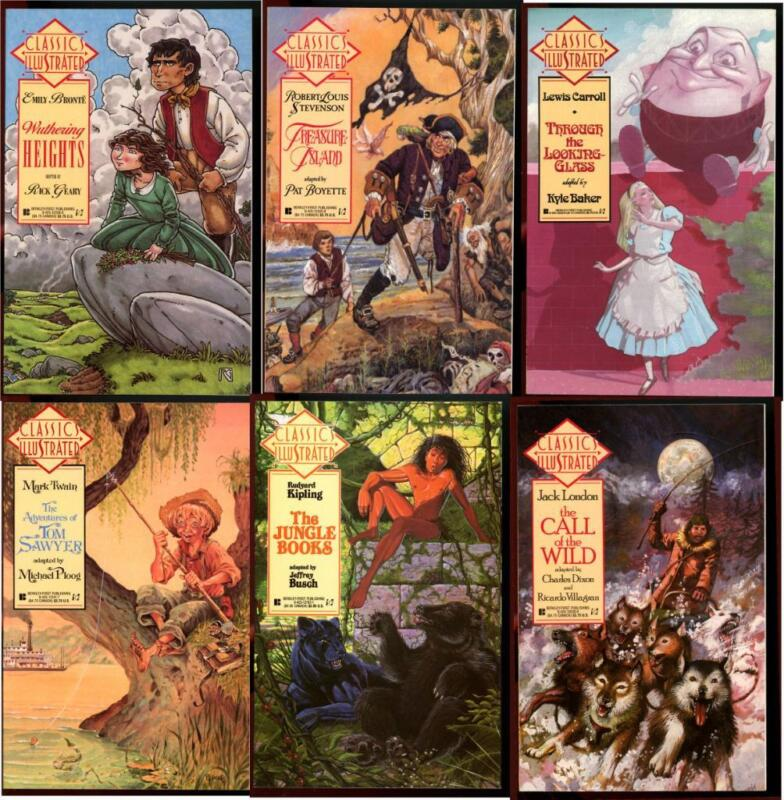 CLASSIC ILLUSTRATED 6 Modern Titles