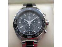 Tag Heuer F1 Formula 1 Ceramic Chronograph Gents Watch CAZ1111 **Buy Online**