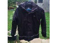 TRESPASS Black Childrens Winter Jacket - Size 7-8yrs (122-128cm)