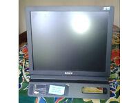SONY 17 inch monitor SDM-E76D, very good condition