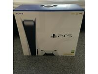 Brand New PS5 Playstation 5 Disc Edition Console With Receipt & Warranty