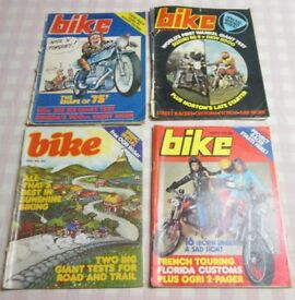 Bike Magazine 8 issues 1975