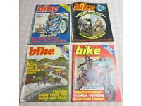 Bike Magazine 8 issues 1975