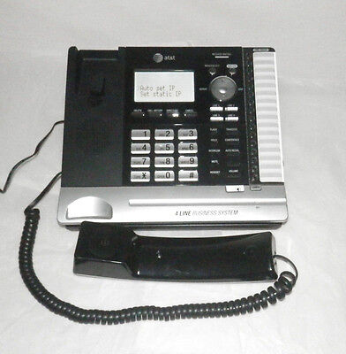 Att Ms2085 4-line Office Business Phone Main Console With Box And Manuals