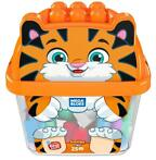 *Mega Bloks - Smiley Tiger  Bouwblokken