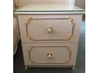 Shabby chic style bedside cabinet ( 2 available)