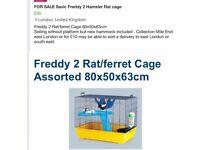 Hamster Rat cage home pet LARGE. RSPCA approved size can London deliver £35