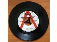 GENE VINCENT RARE UNRELEASED SIGNED SINGLE -'RIP IT UP'