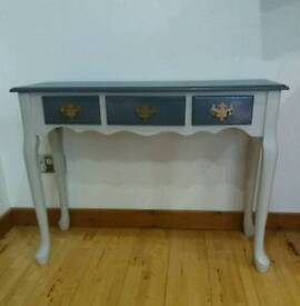Beautiful solid wood hall console coffee table