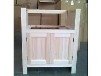 Solid Pine Sink Kitchen Unit