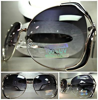 Übergröße Groß Vintage 80er Jahre Retro Stil Sonnenbrille Dreist Mode Riesig