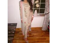 Asian formal party wear bridal outfit for sale