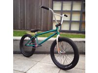 BMX Fitbike Trans Teal