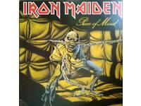 Iron Maiden Piece Of Mind 1983 Japan first press