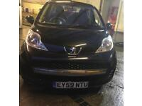 2009 PEUGEOT 107 URBAN, automatic, 31000miles only