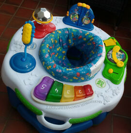 Secondhand baby disco activity centre.