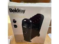 Beldray mini 7 fin oil filled radiator
