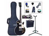 Electric guitar Encore EBP-E99BLK and Amplifier. Price for new £192