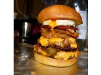 Experienced grill chef required for busy burger restaurant - high standards only, must do a trial.
