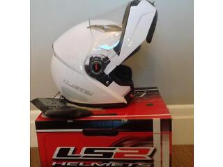Ls2 ff370 helmet white