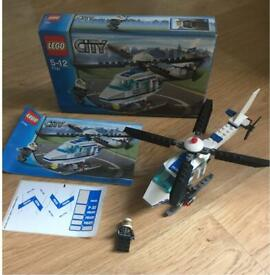 LEGO CITY Police Helicopter set 7741 - complete