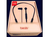 BeatsX by Dr. Dre Earphones - Black - Brand new boxed
