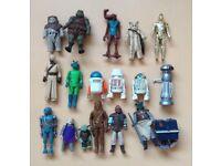 18 Vintage 70/80s Star Wars Figures Lot 2