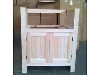 Solid Pine Sink Kitchen Unit