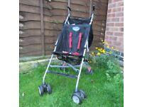 BabyStart 4 Wheeler Pushchair Baby Stroller Pram Lightweight Travel Lightweight FREE DELIVERY