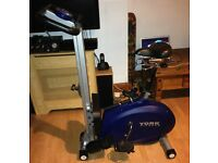 York 2 in 1 Cycle Rower in Very Good Condition Hardly Used cost £500 new very robust model
