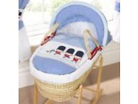 Little soldier Moses basket and stand