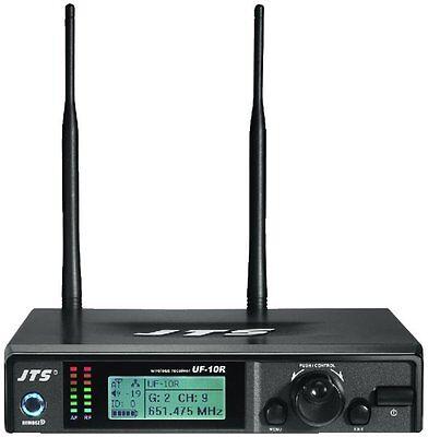 JTS UHF PLL Professional Wideband Handheld Wireless Mic System True (Pll Handheld System)