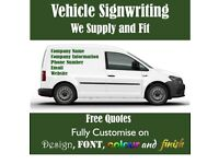 Vehicle Signwriting, Vehicle Vinyl, Lettering, Sign writing - Free Quotes and Free Design Cost