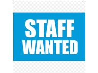 Pizza shop staff wanted