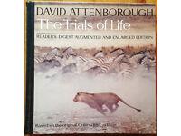 "Readers Digest David Attenborough ""The Trials of Life"""